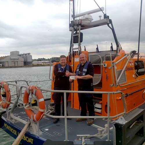 Lifeboat award image